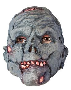 Masque de zombie gris