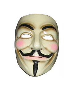Masque Anonymous V pour Vendetta - Guy Fawkes