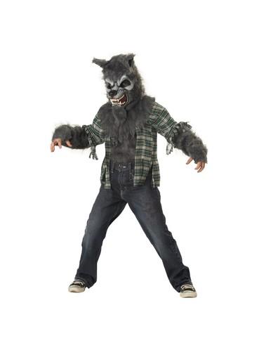 Costume de loup-garou maudit pour garçon