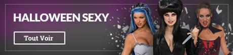 Déguisements Halloween sexy pour femme et homme. Les modèles les plus audacieux pour Halloween !