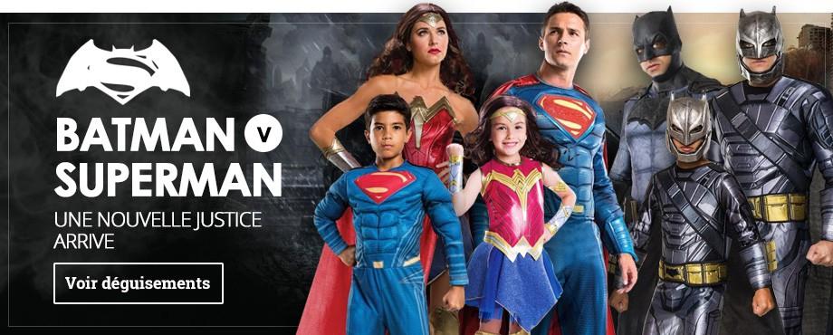 Déguisements Batman v Superman