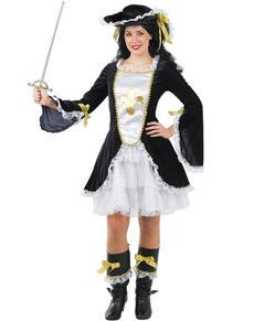 Costume de mousquetaire sexy