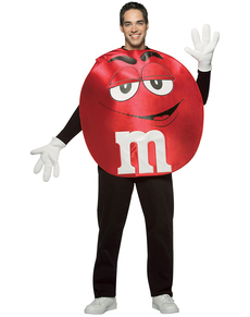 Costume de M&Ms rouge adulte