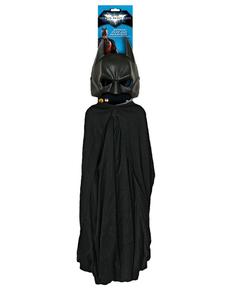 Ensemble Batman pour adulte avec masque et cape