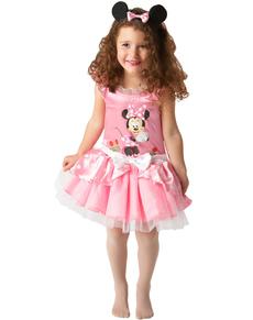 Costume de Minnie Mouse Ballerine Rose pour fille