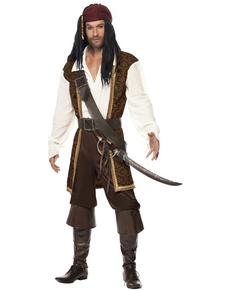 Déguisement de pirate de haute mer
