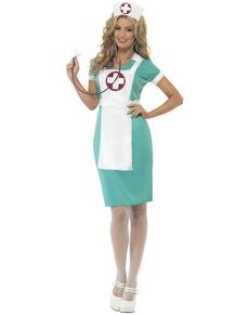 Déguisement d'infirmière de salle d'opération classique