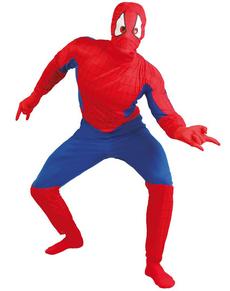 Déguisement d'homme araignée adulte