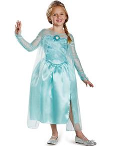 Costume d'Elsa Scintillante de la Reine des Neiges pour fille
