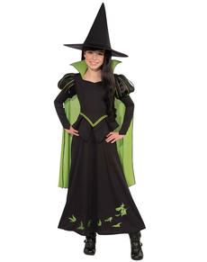Costume de sorcière le magicien d'On pour fille