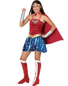 Costume de Wonder Woman pour adolescente