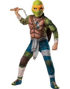 Costume de Michelangelo musclé Tortues Ninja Movie pour enfant