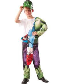 Costume Hulk-Captain America Reversible pou enfant
