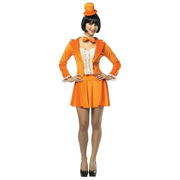 Funidelia FR  Costume de Lloyd smoking orange Dumb and Dumber pour femme