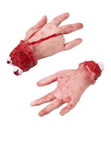 Main à quatre doigt d'air vrai