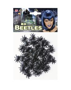 Ensemble de 60  scarabées noirs