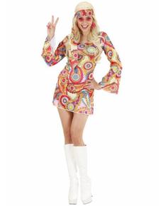 Déguisement hippie année 60 femme