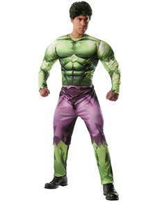 Costume Hulk Marvel deluxe adulte