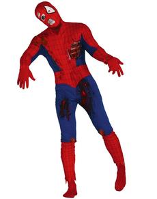 Déguisement homme araignée zombie homme