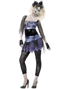 Déguisement année 80 zombie femme