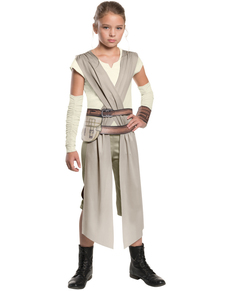 Costume Rey Star Wars Épisode 7 classic fille
