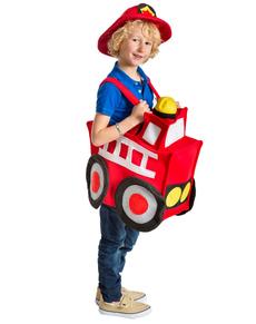 Déguisement camion de pompier enfant