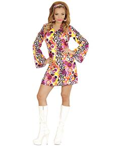 Déguisement disco girl femme