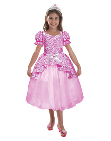 Costume Barbie brillant fille