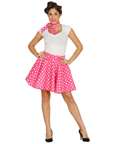 Kit pin up rose femme