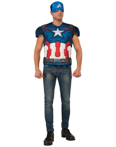 Kit Costume Captain America homme