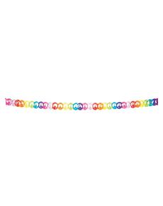 Guirlande multicolore symbole de paix