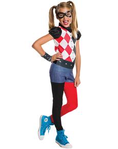 Costume Harley Quinn classic fille
