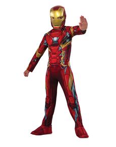 Costume Iron Man Captain America Civil War enfant