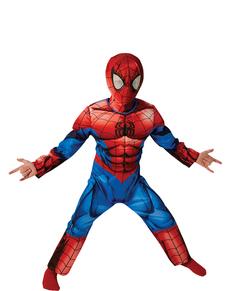 Déguisement Ultimate Spiderman musclé enfant