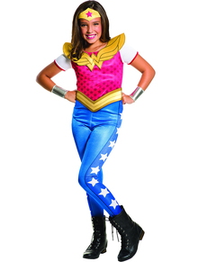 Costume Wonder Woman fille