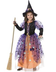 Costume de sorcière pour fille
