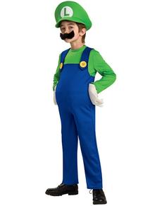 Costume de Luigi garçon haut de gamme