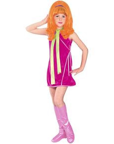 Costume de Daphné Scooby-Doo pour fille