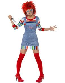 Costume de Chucky pour femme